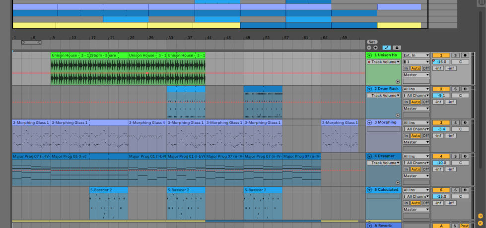 Ableton-Swan-Dance-Arrangement-View